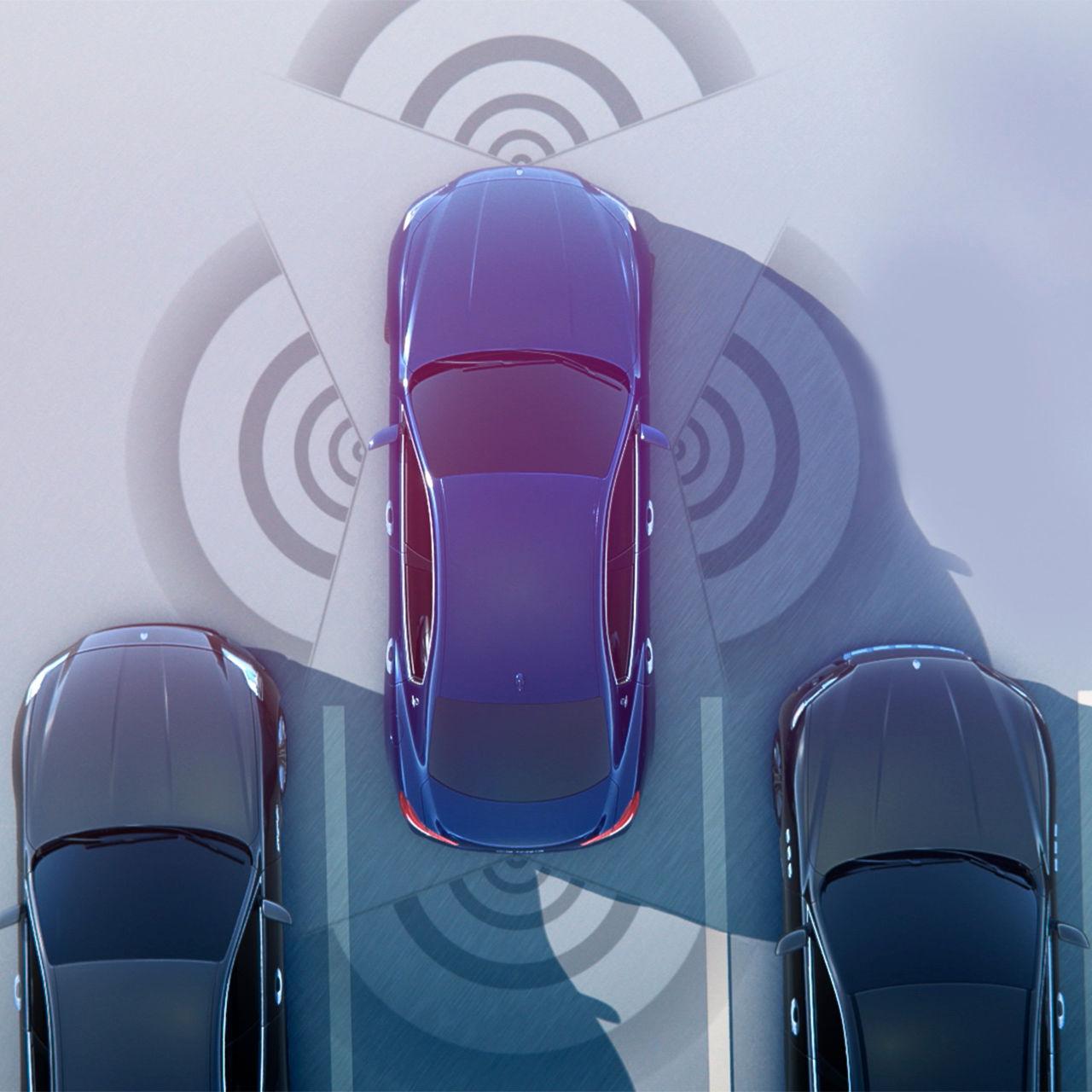 Maserati Surround View Camera