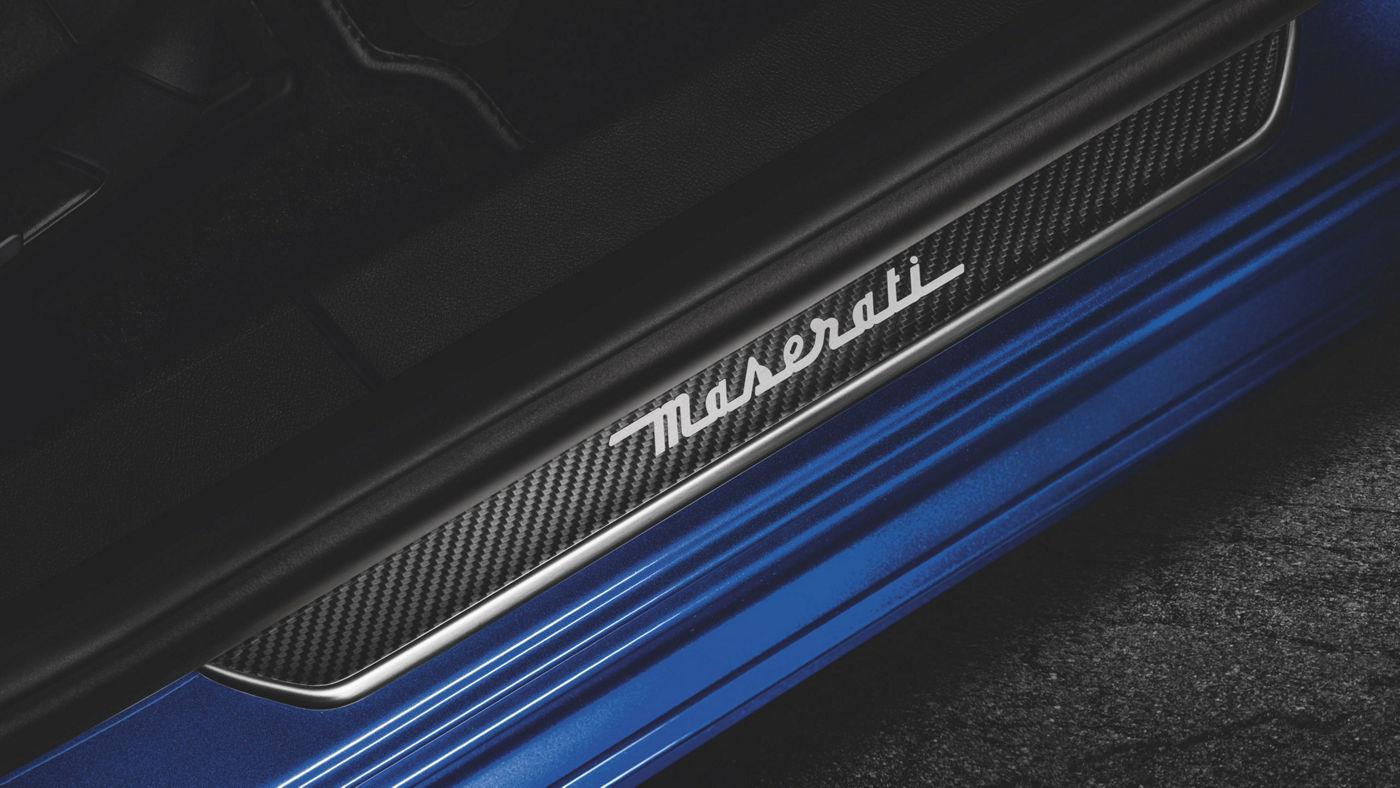 Maserati accessories and customisation - Carbon Doorsill Plates