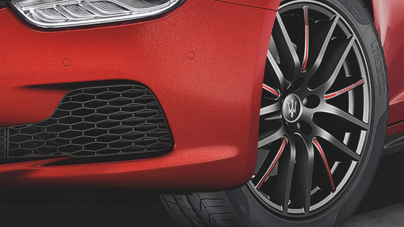 Maserati Ghibli wheel accessories - rims and tyres