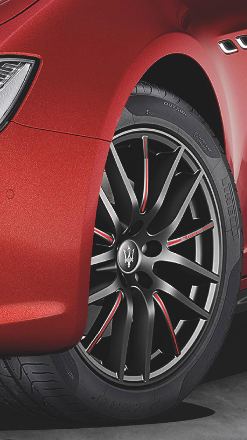 Maserati Ghibli wheel accessories - rims and tyres