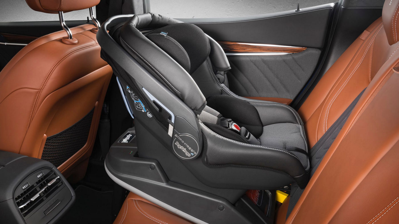 Maserati Ghibli accessories - Child Seat and Pushchair