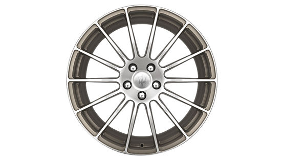 Maserati Ghibli rims - GTS Antracite Forged