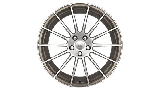 Maserati Ghibli rims - GTS Antracite Forged