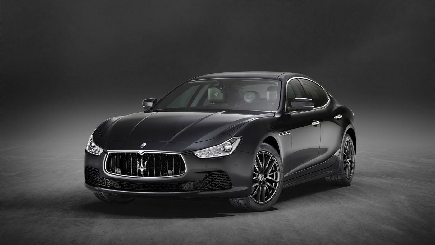 Maserati Ghibli Reifen und Felgen: Ghibli in Schwarz