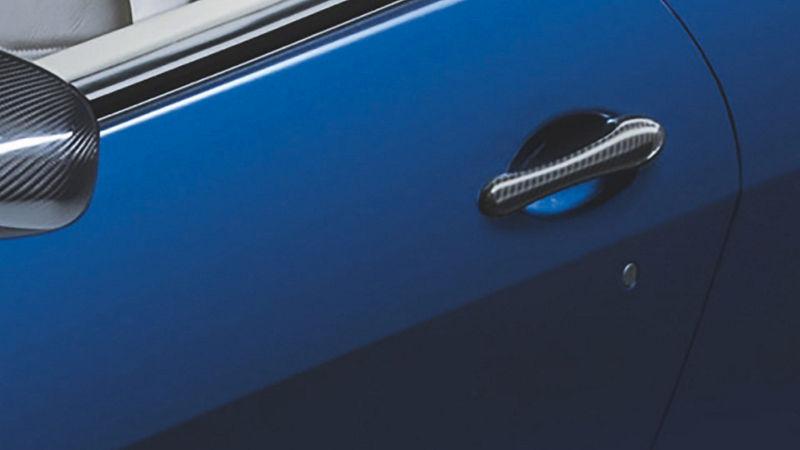 Maserati GranCabrio accessories - exterior carbon package retrofit, door handle
