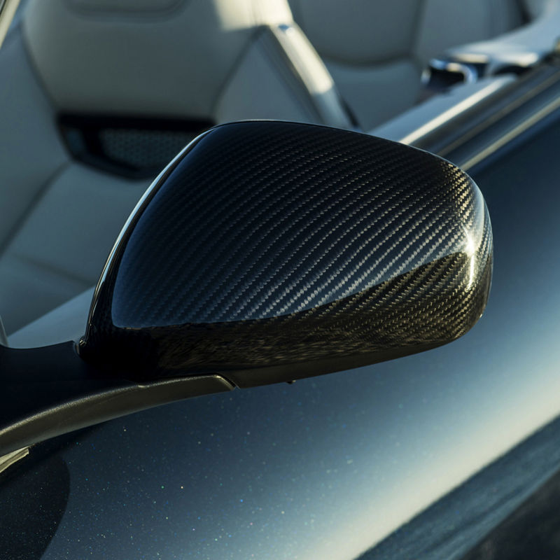 Maserati GranCabrio accessories - exterior carbon package retrofit, side mirror