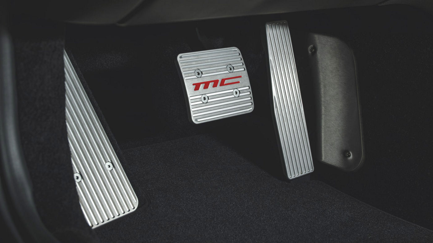 Maserati GranCabrio accessories - MC pedal