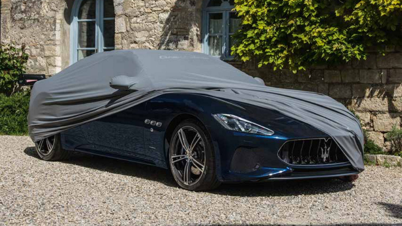 Maserati GranTurismo accessories - Car cover