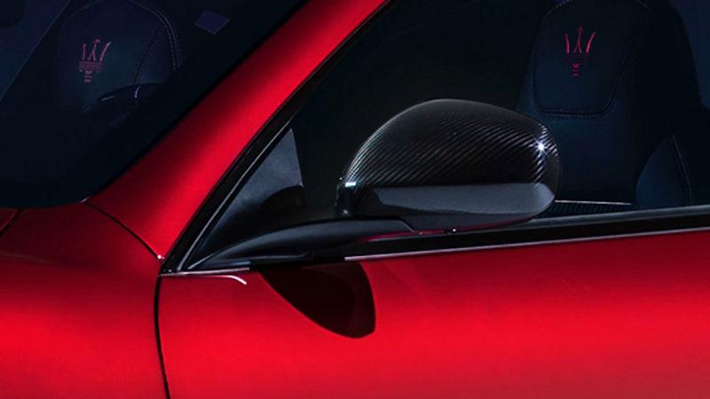 Maserati GranTurismo accessories - Exterior Carbon Package Retrofit, side mirror