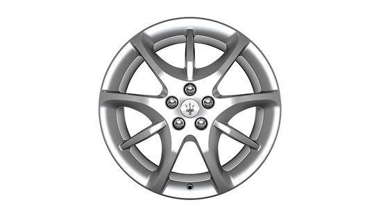 Maserati GranTurismo and GranCabrio rims - Astro Design Silver