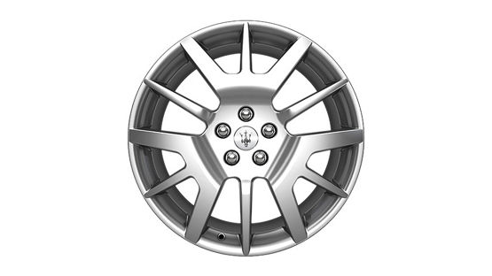 Maserati GranTurismo and GranCabrio rims - Birdcage Design Silver