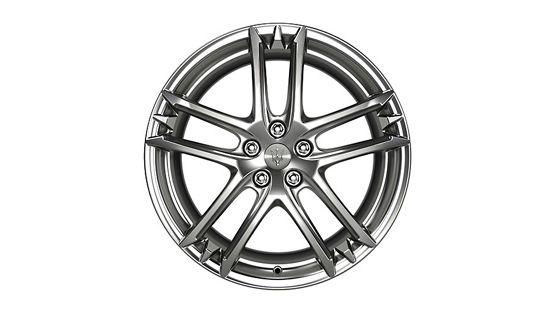 Maserati GranTurismo and GranCabrio rims - MC Design Titanium