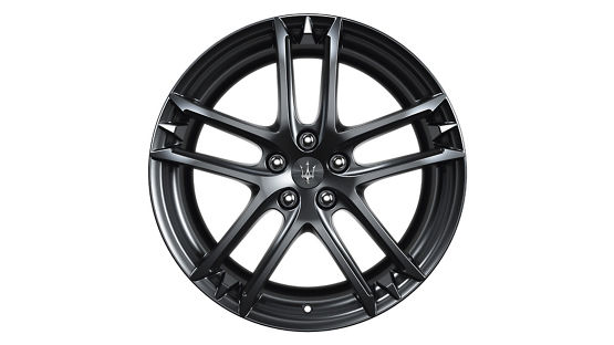 Maserati GranTurismo and GranCabrio rims - MC Glossy Black