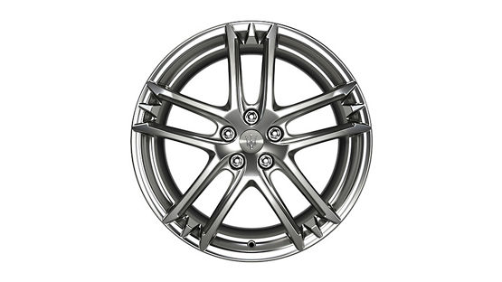 Maserati GranTurismo and GranCabrio rims - MC Shiny Titanium