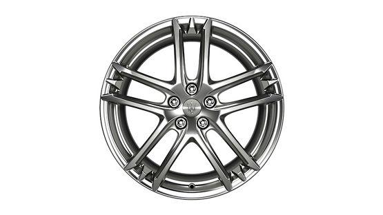Maserati GranTurismo and GranCabrio rims - MC Shiny Titanium