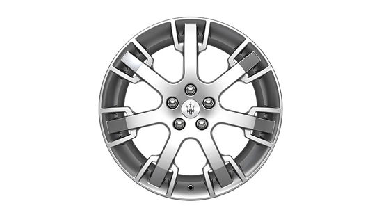 Maserati GranTurismo and GranCabrio rims - Neptune Design Silver