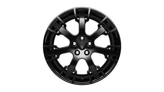 Maserati GranTurismo and GranCabrio rims - Neptune Glossy Black