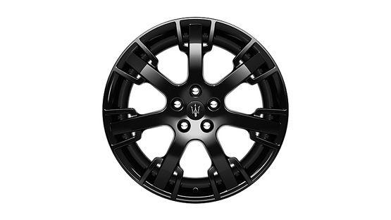 Maserati GranTurismo and GranCabrio rims - Neptune Grigio Black