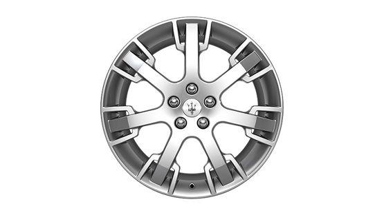 Maserati GranTurismo GranCabrio rims - Neptune Silver