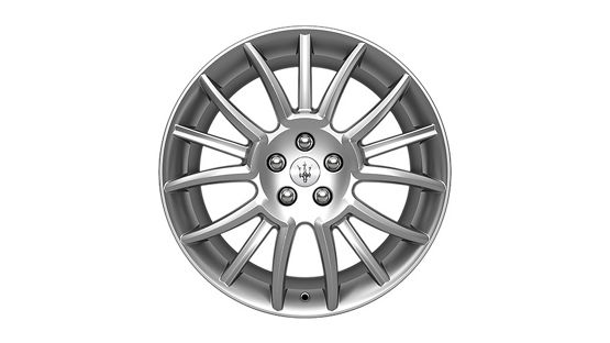 Maserati GranTurismo and GranCabrio rims - Trident Design Silver