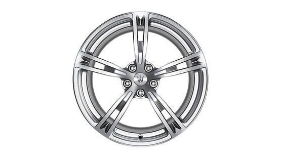 Maserati GranTurismo and GranCabrio rims - Trofeo Silver Forged
