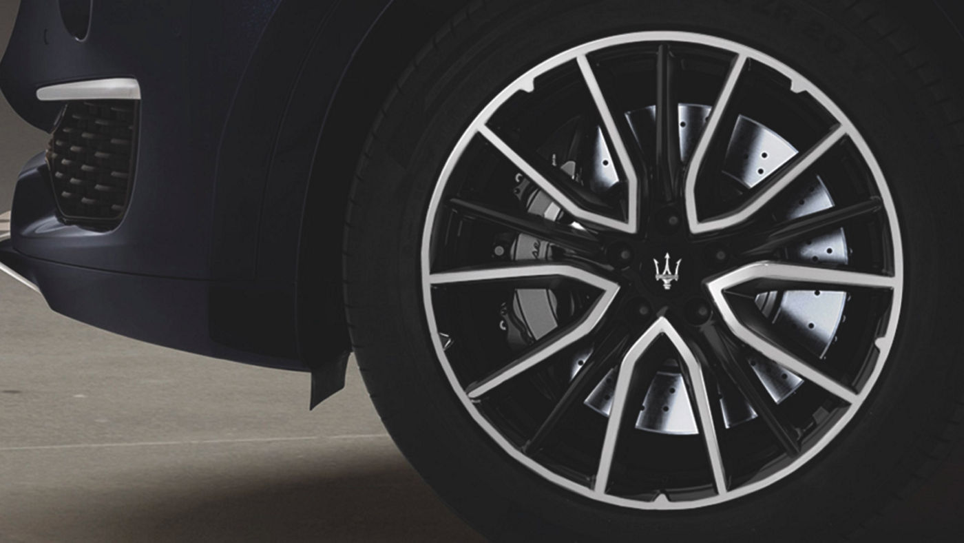 Maserati Levante wheel accessories - rims and tyres