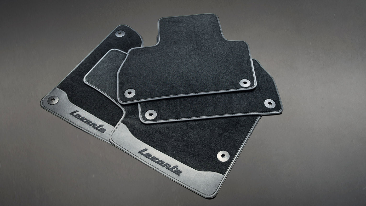 Levante Accessories - Branded Floor Mats