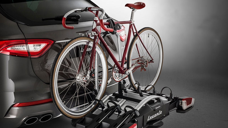 Maserati Levante accessories - bike rack
