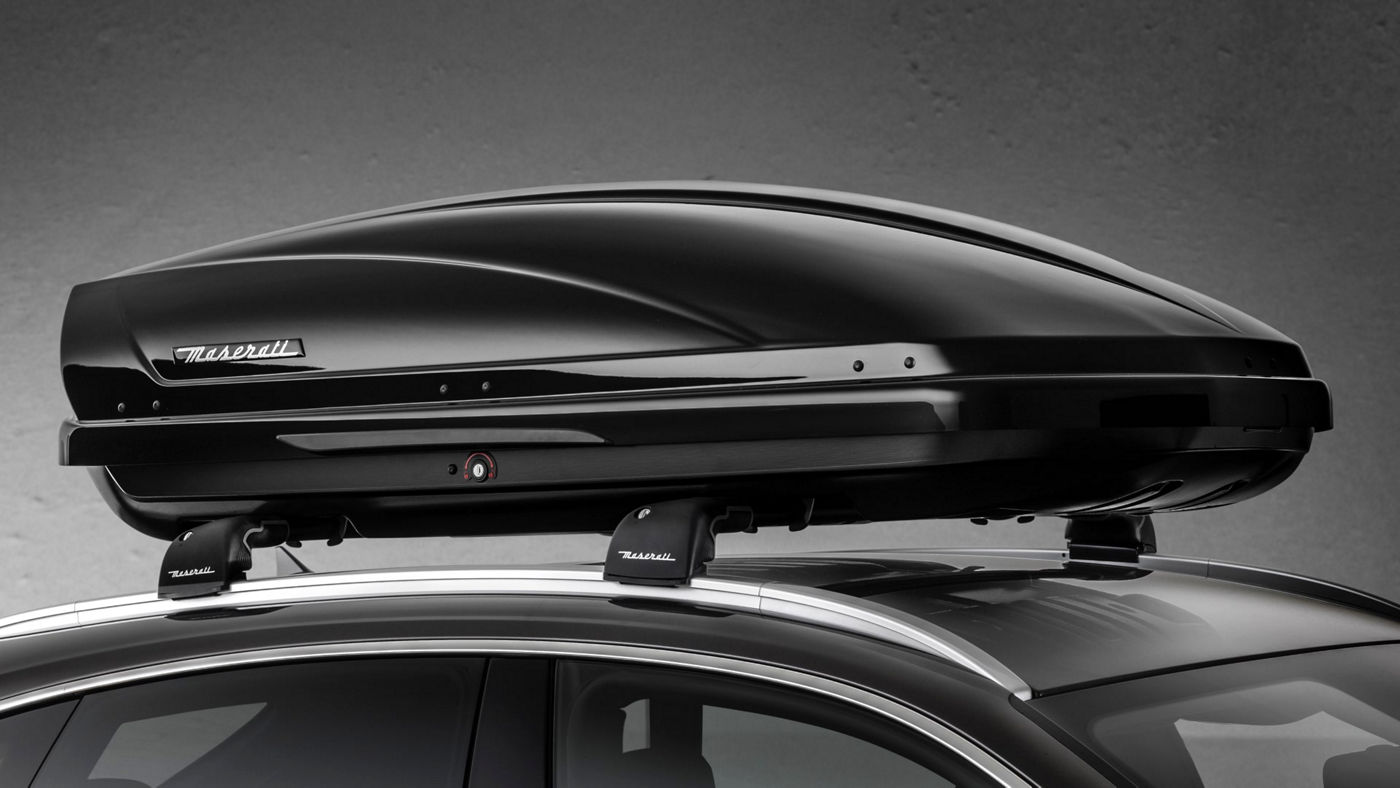 Maserati Levante accessories - Roof Rails and Roof Box
