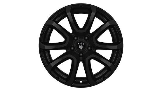 Maserati Levante rims - Zefiro Matt Black