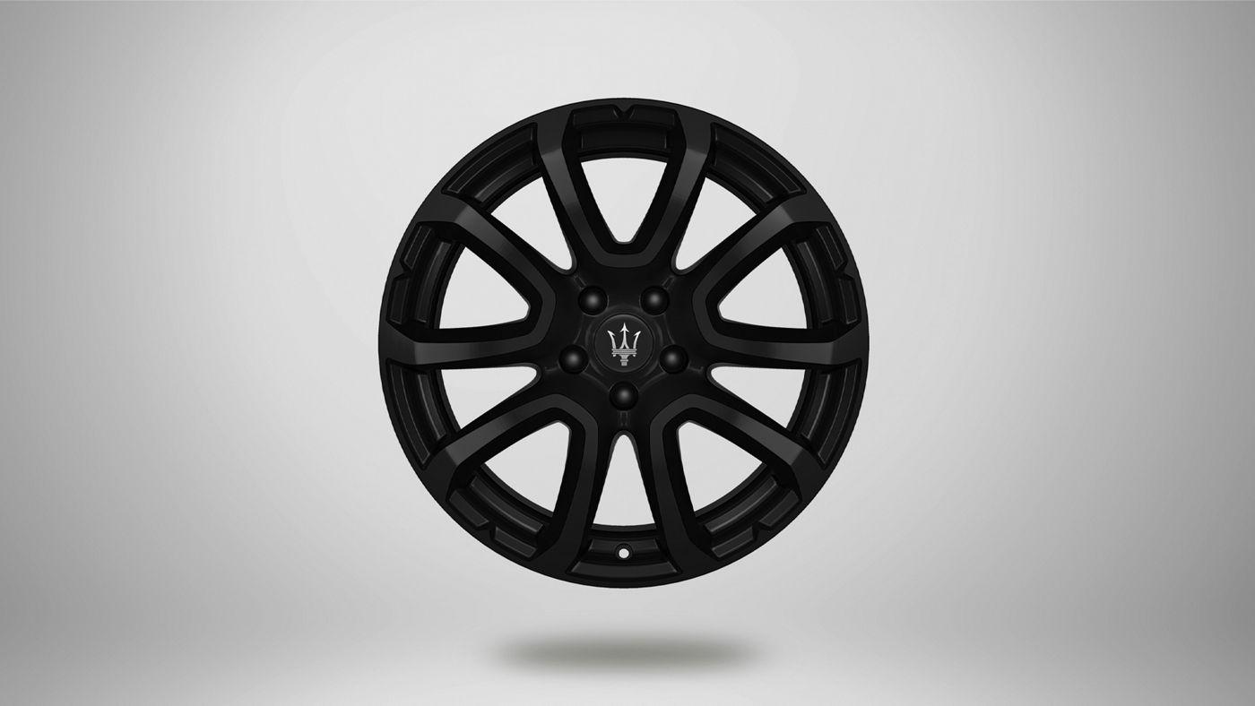Maserati Levante rims - Zefiro, matt black rim