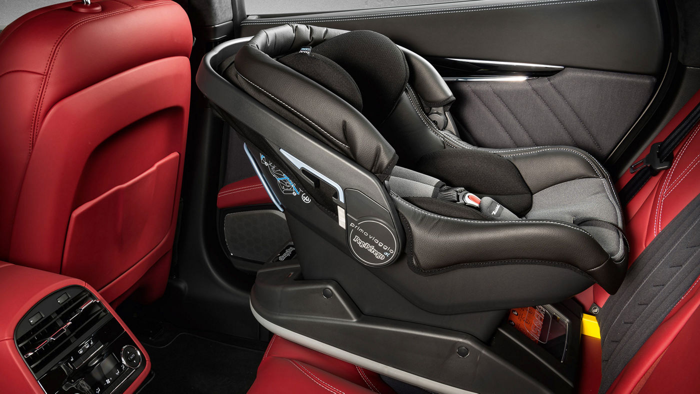 Quattroporte Accessories -  Safety Childseat designed by Peg Pérego