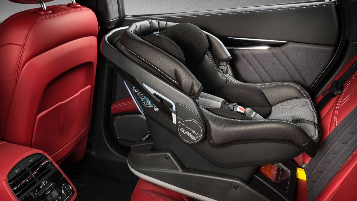 Maserati Quattroporte accessories - Child Seat