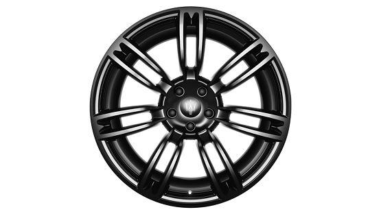 Maserati Quattroporte rims - Urano Glossy Black