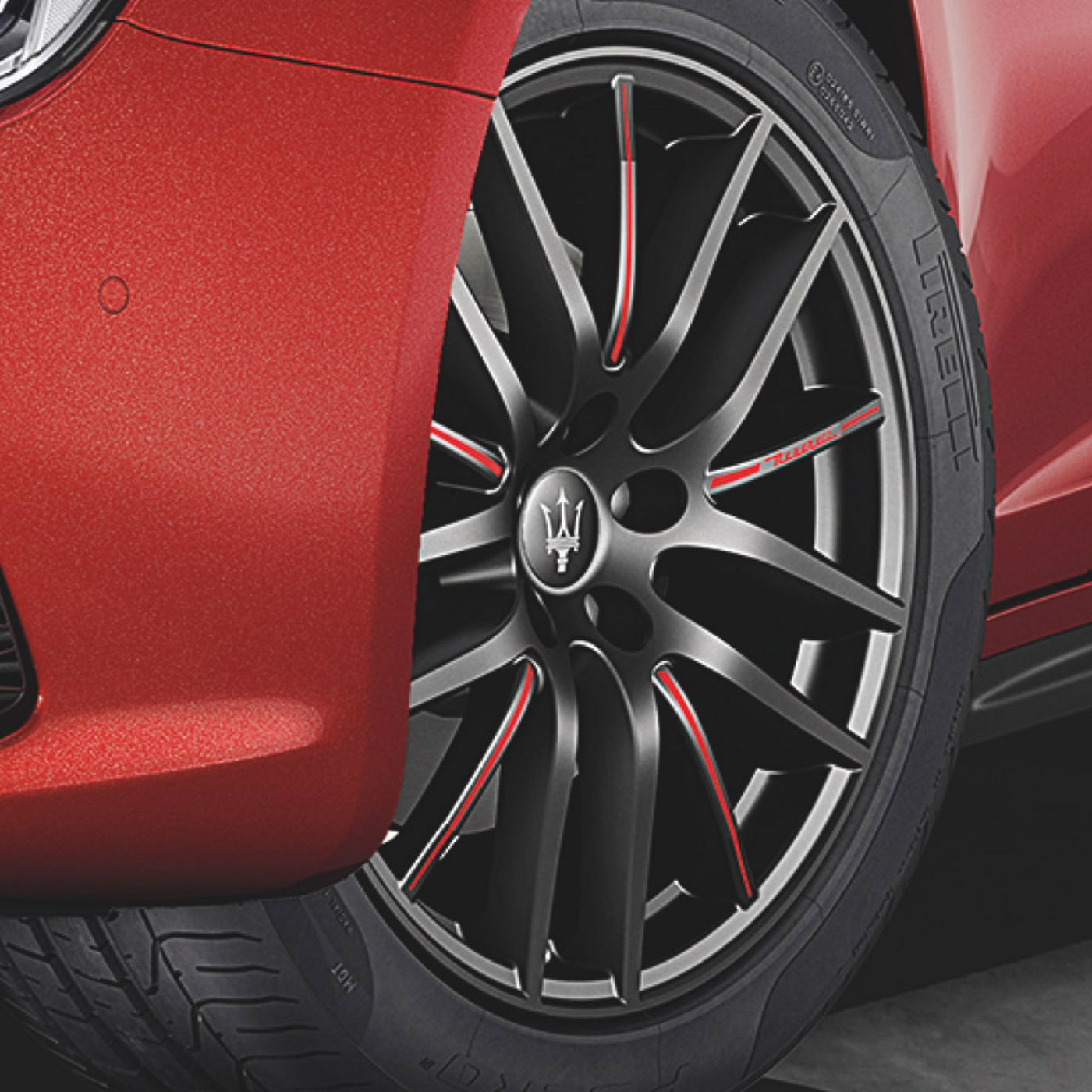 Maserati Ghibli tyres and rims