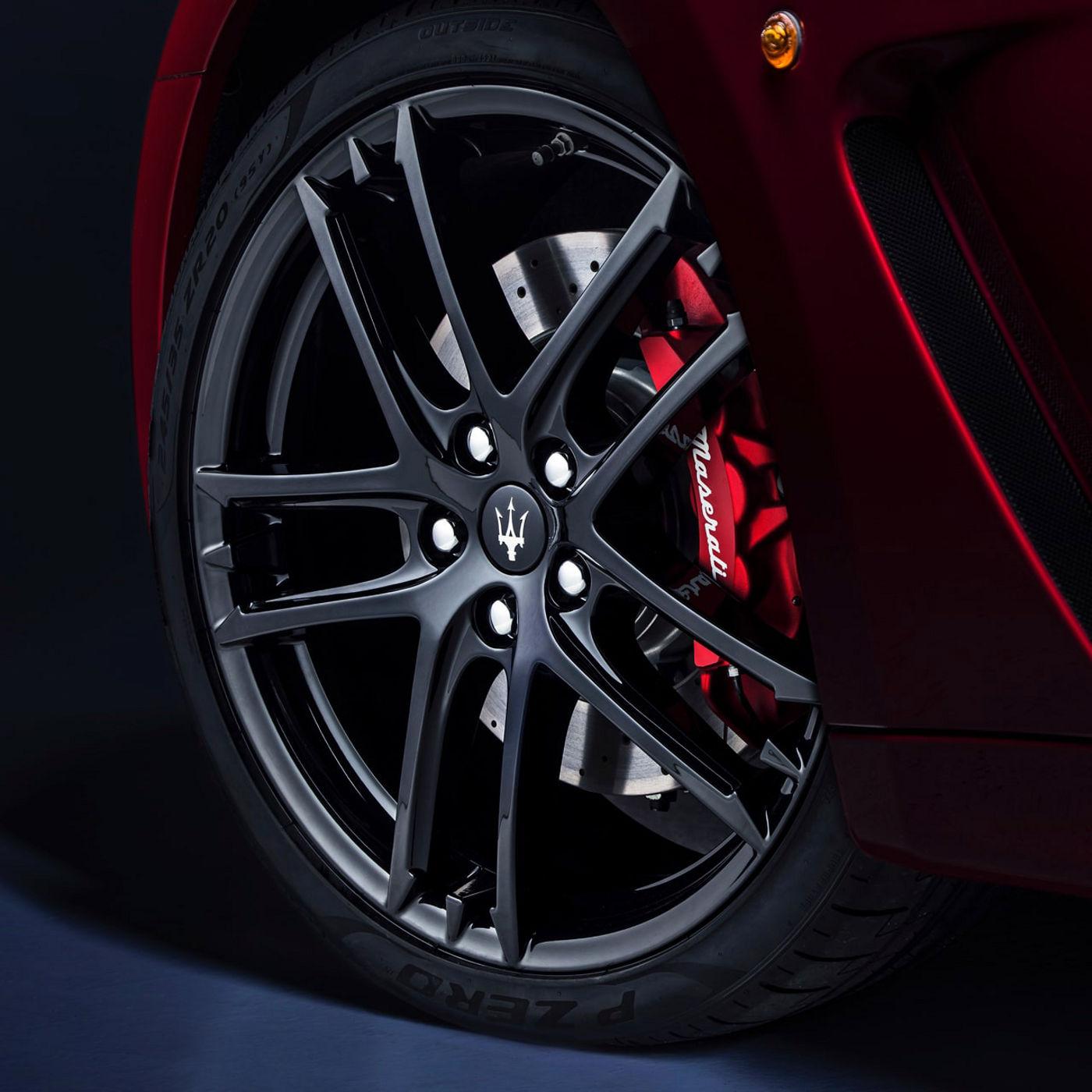 Maserati GranTurismo tyres and rims