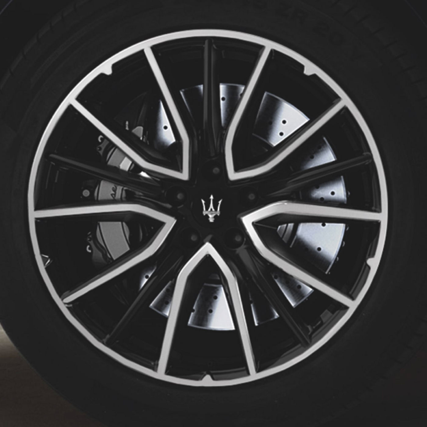 Maserati Levante tyres and rims