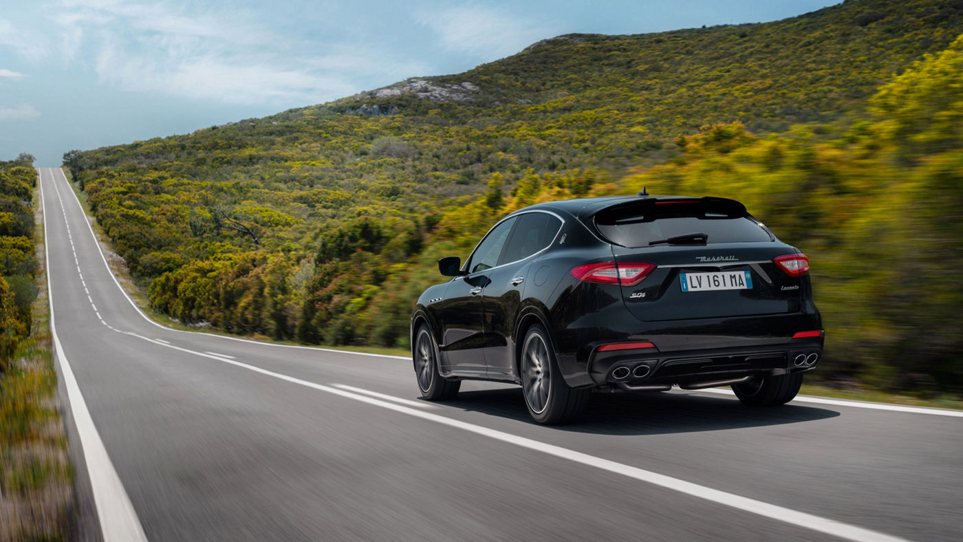 Maserati Levante S - rear view - on the road
