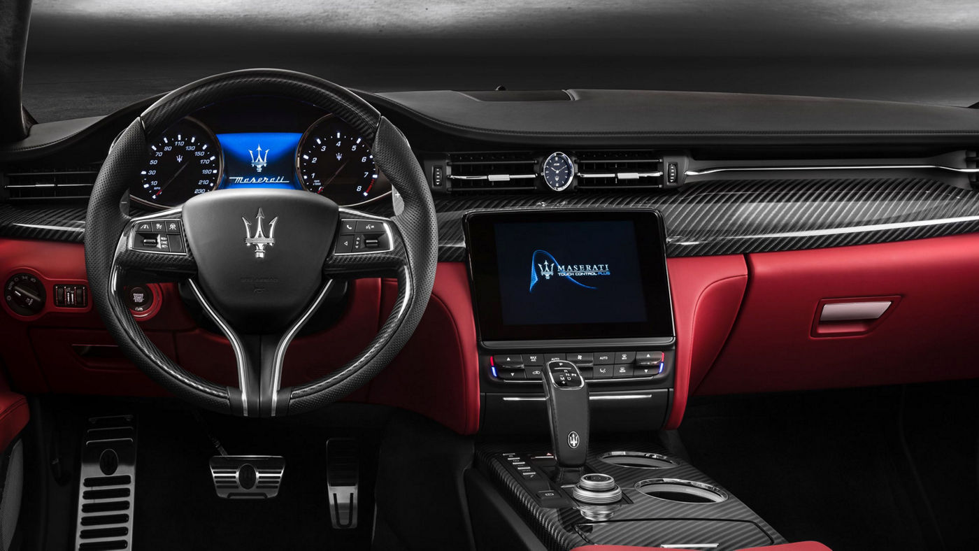 The Maserati flagship Quattroporte: financial services to make it yours