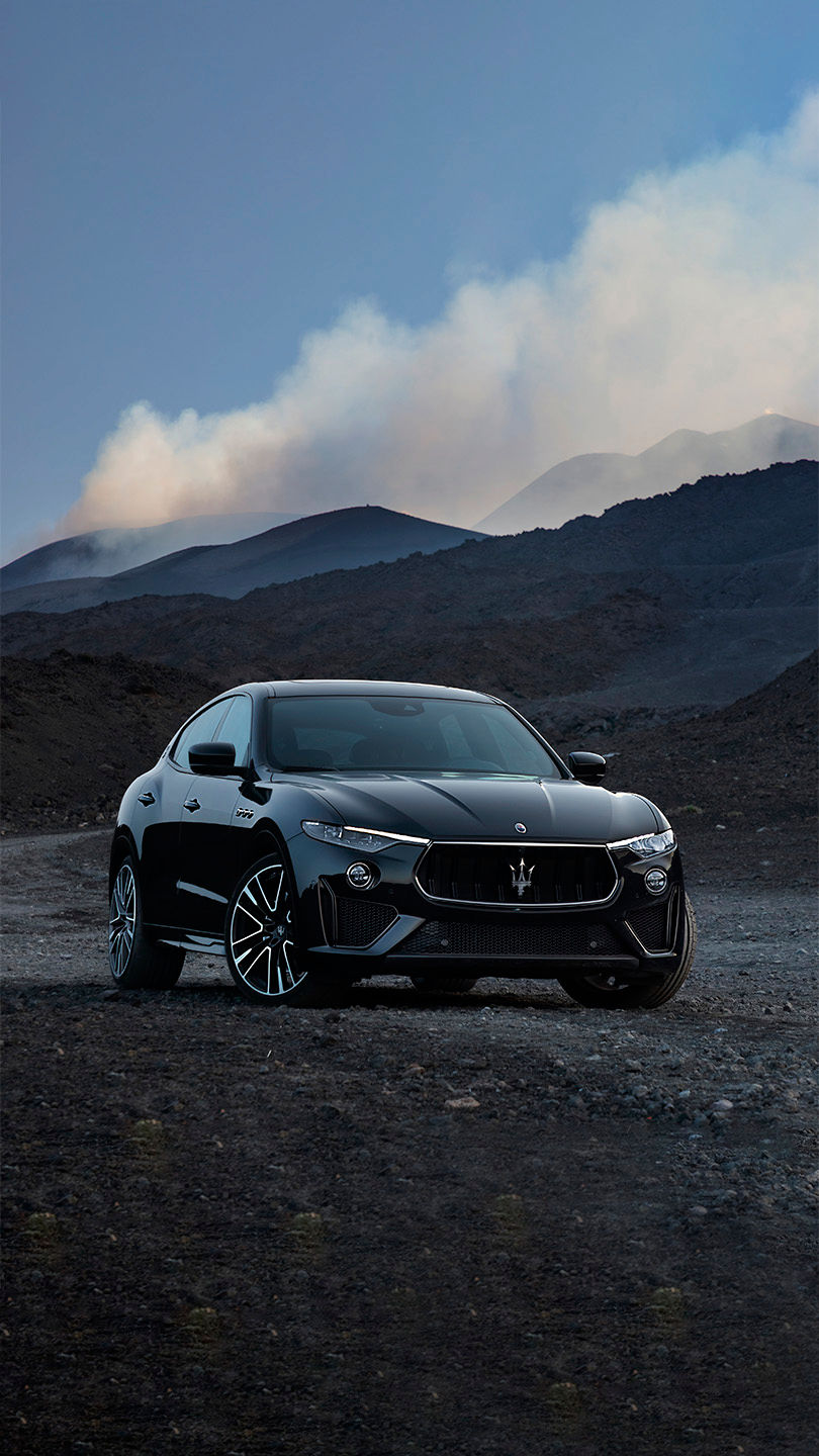 A Maserati Levante: the Maserati of SUVs