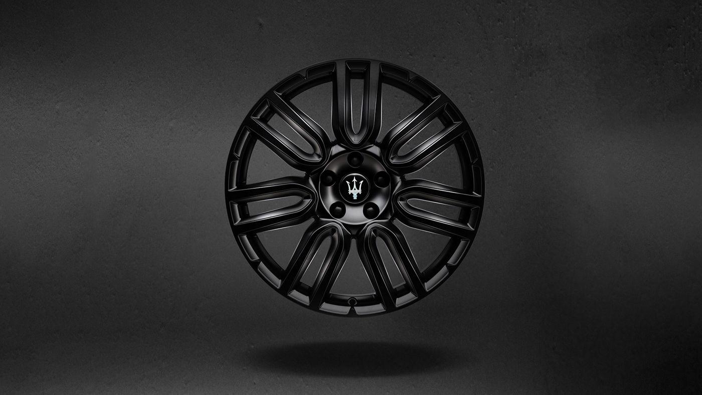 """Maserati Levante Originalreifen - Apollo, Mattschwarz Größe: 19"""" Vorne: 245/40 R19 Hinten: 275/40 R19"""