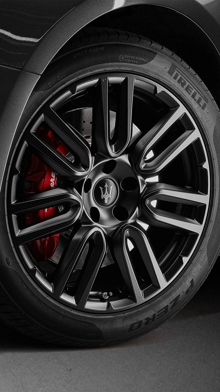 Maserati Pirelli Rad und Bremse
