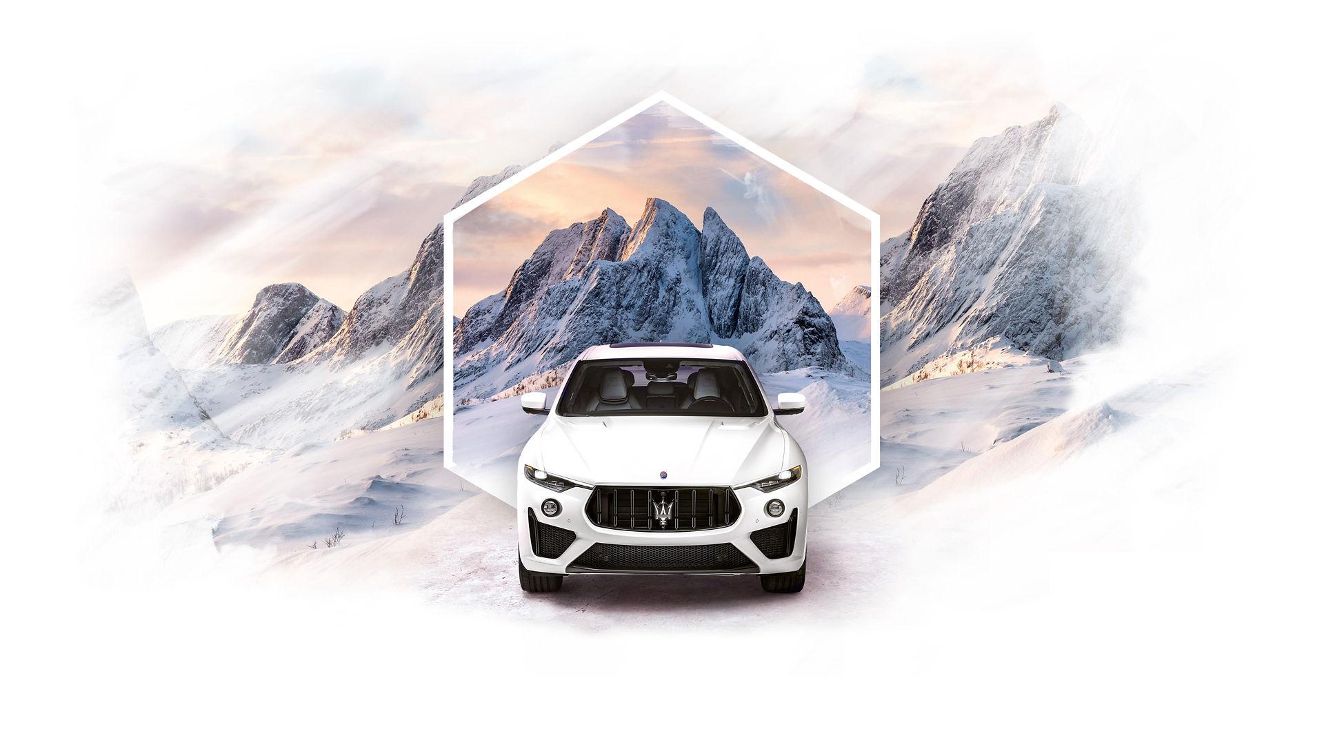 Maserati Levante in weiß - Der Klang der Leidenschaft
