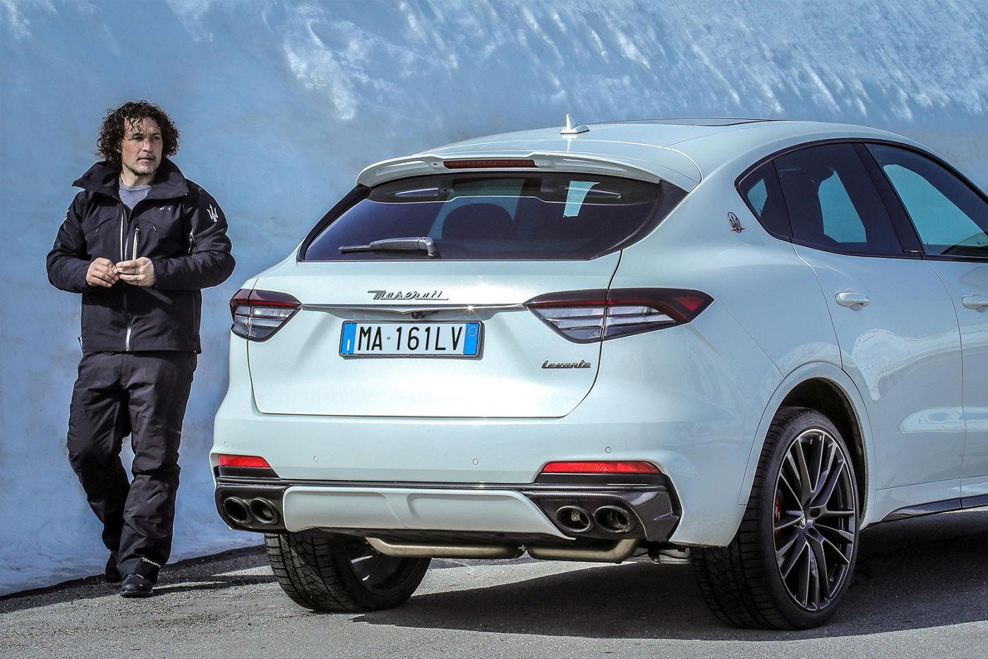 Giorgio Rocca und Maserati Levante - Der Klang der Leidenschaft