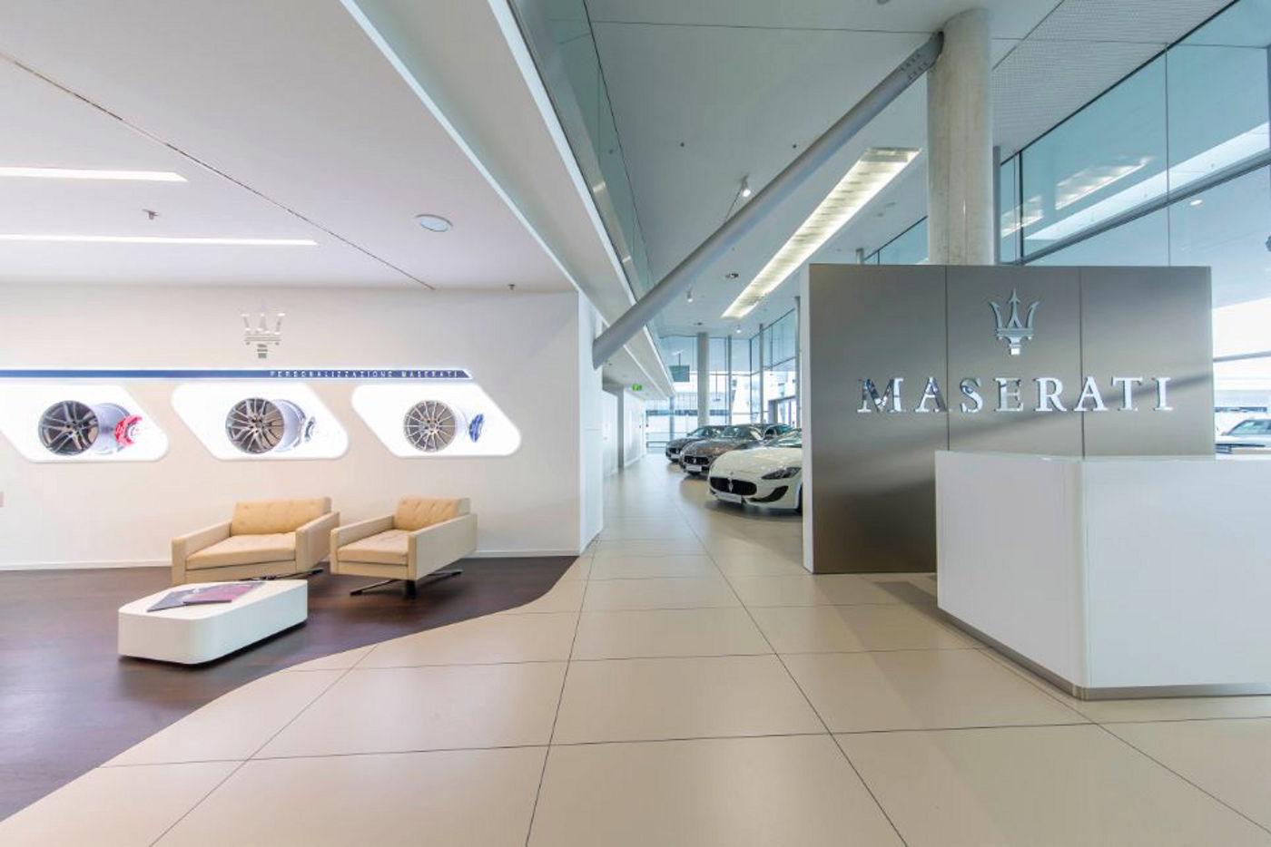 Pappas Maserati Showroom