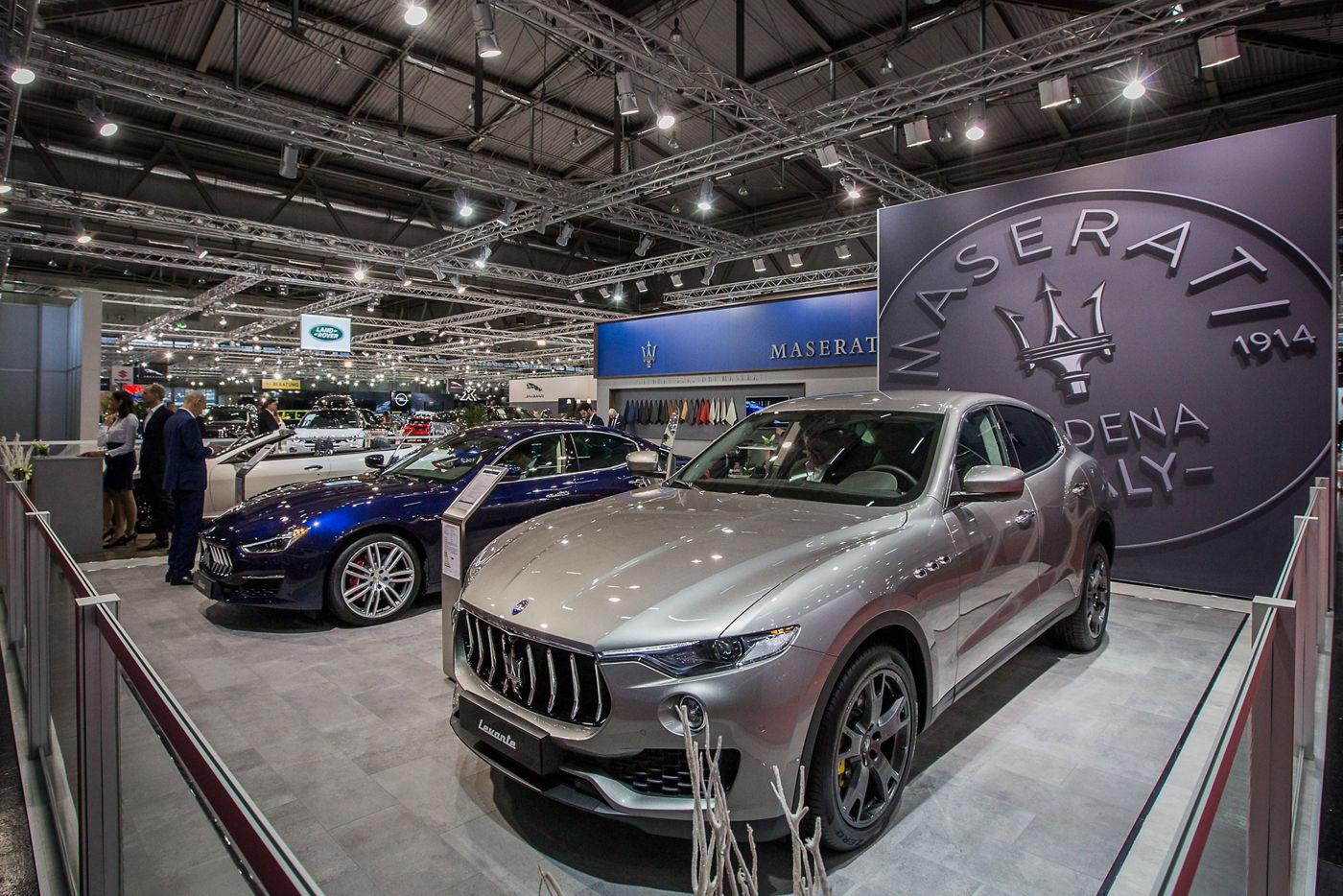Maserati Vienna Autoshow 2018