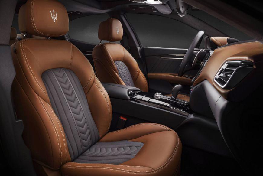 2018 Maserati Ghibli Granlusso Zenga Front Seats