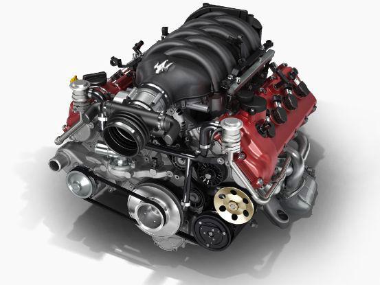 2018 Maserati GranTurismo Convertible v8 4.7