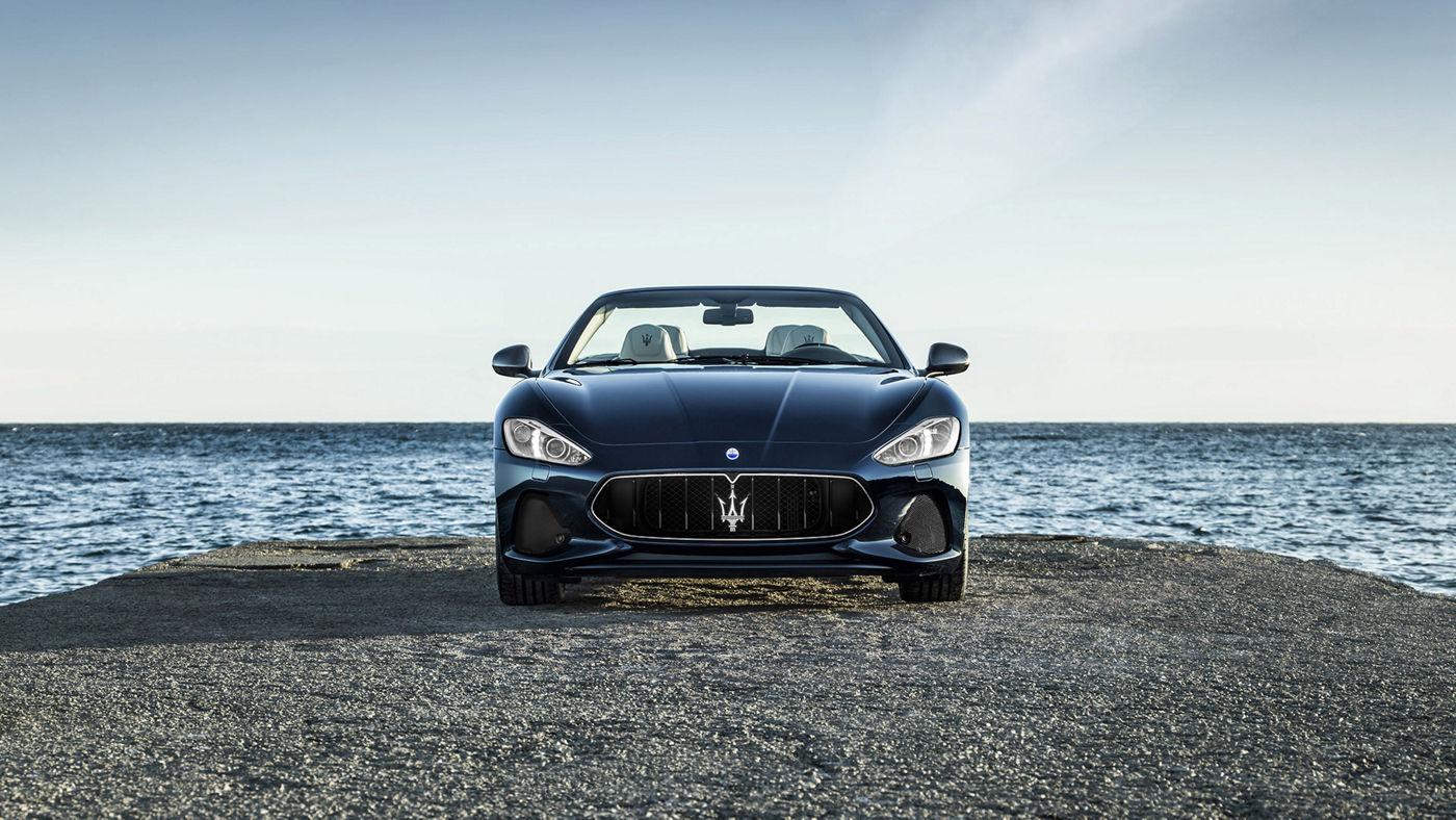 2018 Maserati GranTurismo Convertible In Motion - Rear