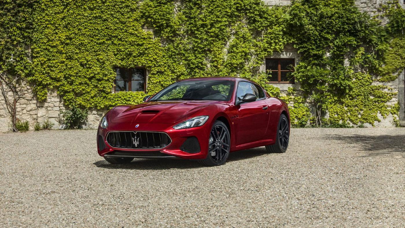2018 Maserati GranTurismo Side View